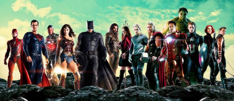 Justice league & Avengers Page
